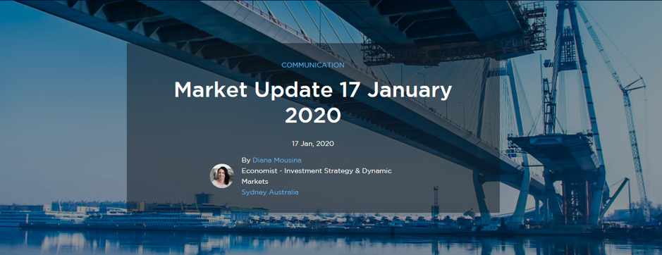 Market Update 17 January 2020